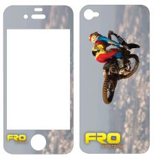 Teillet Scrub iPhone 5 Decal