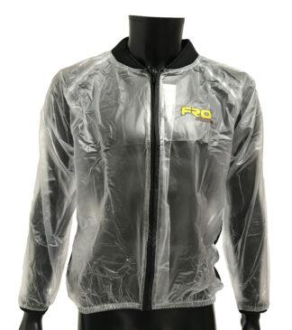 Adult clear waterproof race jacket