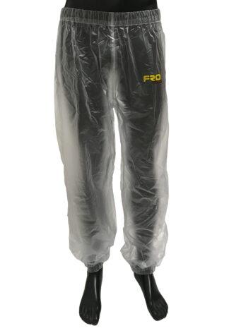 clear waterproof trousers