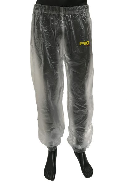 clear waterproof trousers