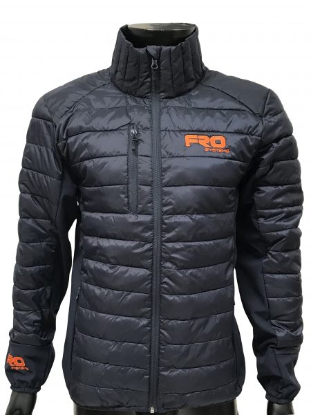 regulate padded jacket