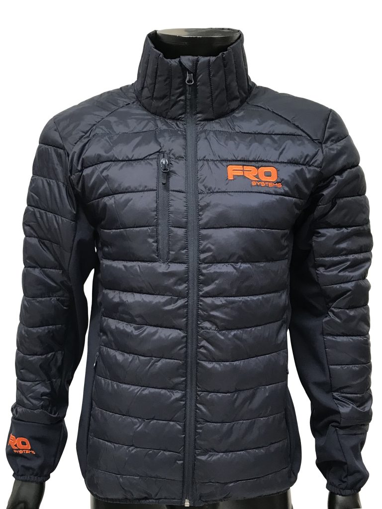 regulate padded jacket