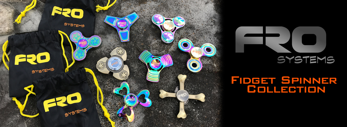 FRO systems fidget spinner collection