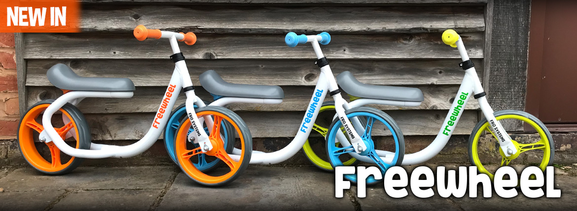 Freewheel balance bike