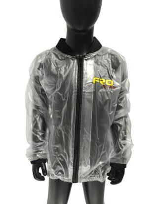 kids clear waterproof race jacket