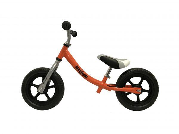 Orange Mayhem Balance Bike