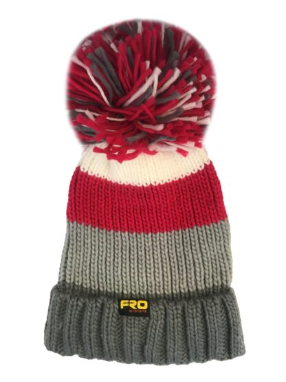 Reflect chunky bobble hat