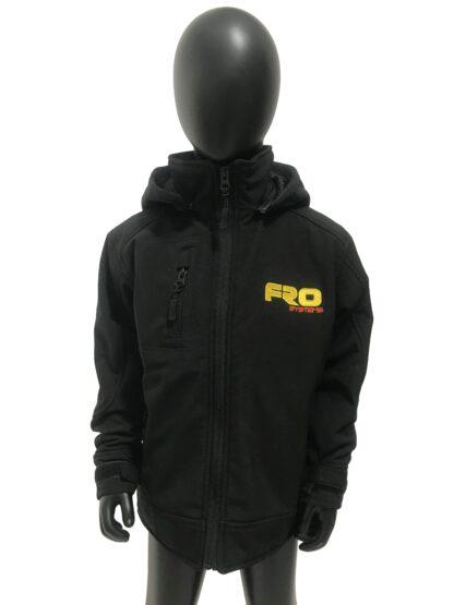 kids speed jacket front