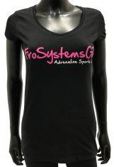womens short sleeve v-neck heart t-shirt
